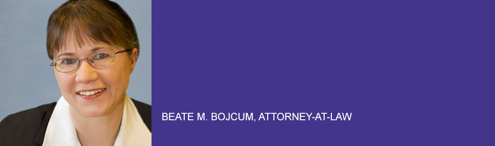 Beate M. Bojcum, attorney-at-law