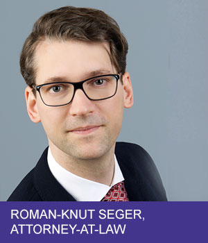 attorney-at-law Roman-Knut Seger
